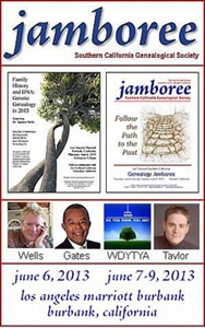 Picture of Southern California Genealogical Society Jamboree Conference 2013