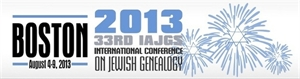 Picture of IAJGS International Conference on Jewish Genealogy 2013
